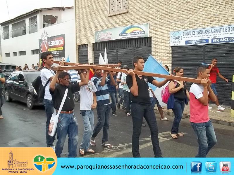 Jovens em Pacajus, Juventude de Pacajus, JUSV, Paróquia de Pacajus, Pacajus, Missão em Pacajus