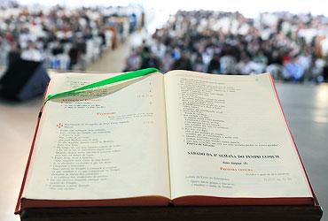 Missal, Missa, Cânticos na Missa, Liturgia, Pacajus, Paróquia de Pacajus