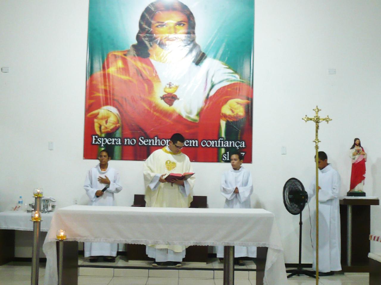 Sagrado Coração de Jesus, Paróquia de Pacajus