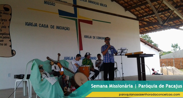 Semana Missionária em Pacajus, Paróquia de Pacajus, Pré- Jornada em Pacajus