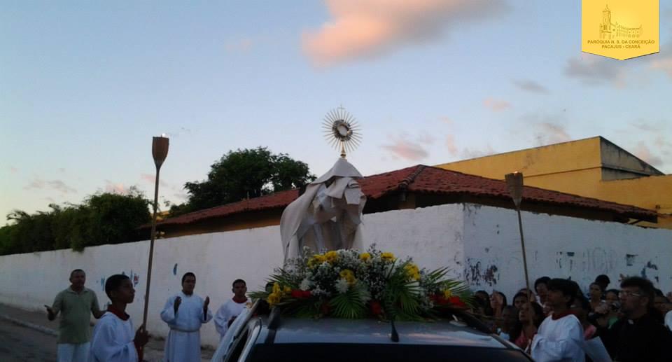 Corpus Christi em Pacajus, Paróquia de Pacajus, Corpo de Cristo