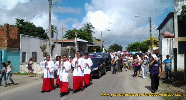 Semana Santa em Pacajus, Via Sacra em Pacajus
