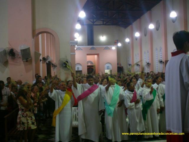 Domingo de Ramos no Pacajus, paróquia pacajus, pacajus, igreja em pacajus