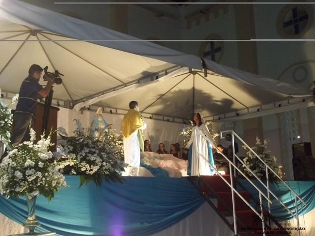 Coroação em Pacajus, Igreja em Pacajus, Paróquia de Pacajus