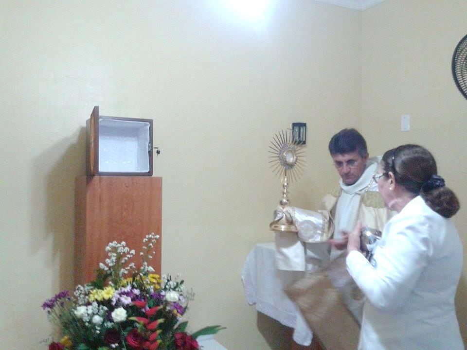 Entronização do Santíssimo Sacramento, Paróquia de Pacajus, Comunidade de Coaçú