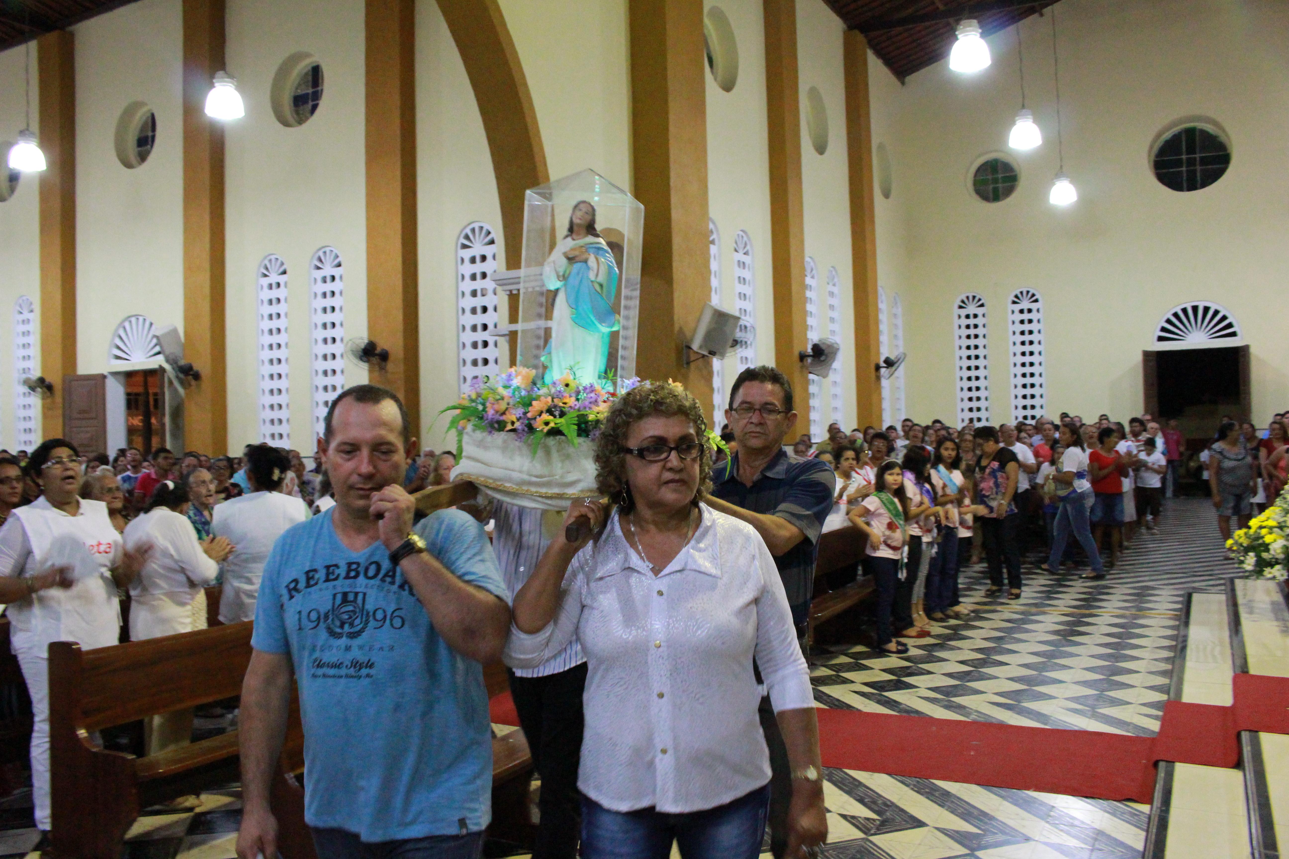 Festa da Padroeira, Pacajus, Paróquia de Pacajus
