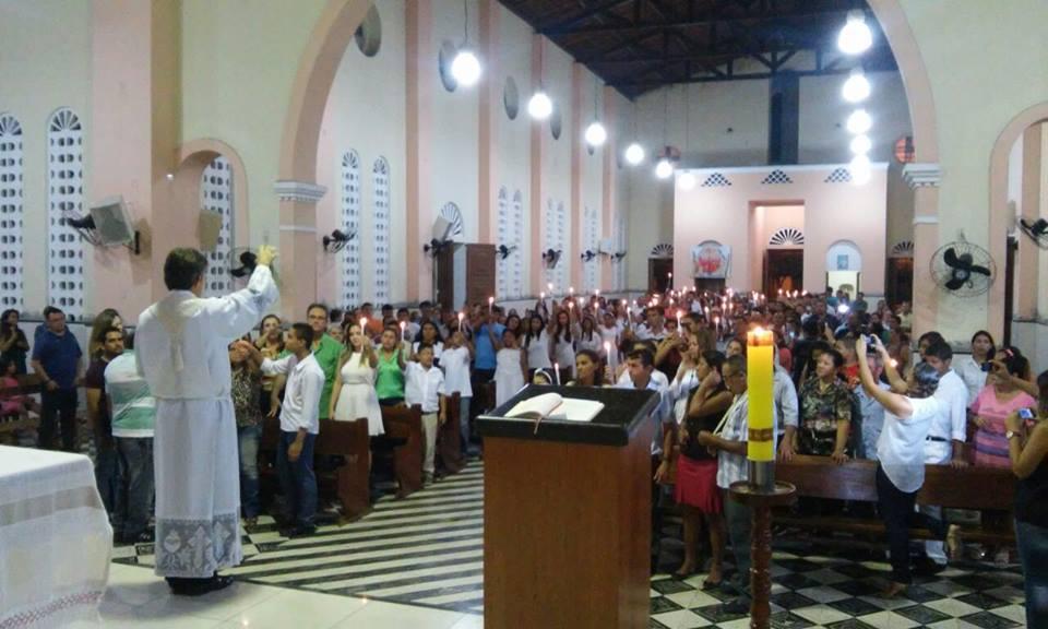 Batismo na Paróquia de Pacajus