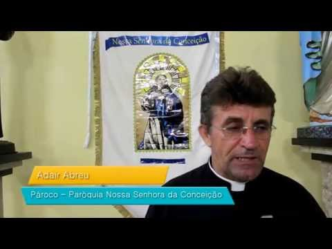 Recado do Padre Adair sobre os festejos da Padroeira 2014