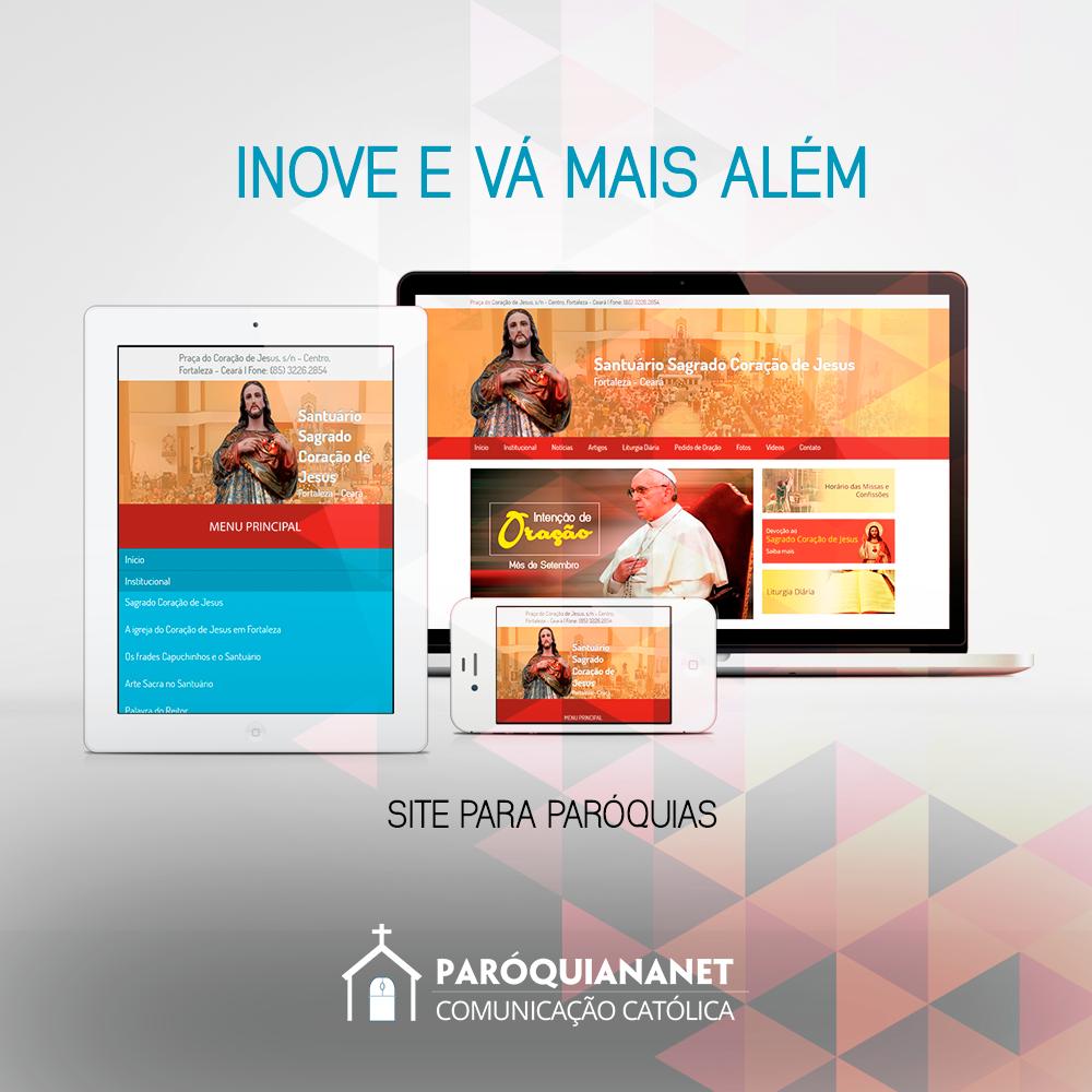 Criação de Sites para Paróquias