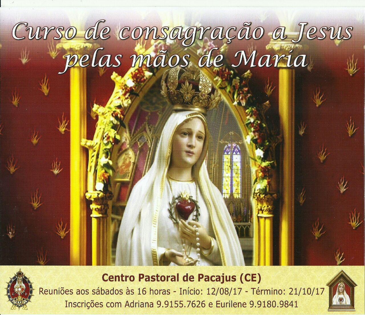 Consagração a Nossa Senhora em Pacajus